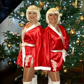 Santa Sisters Christmas Entertainment Photo 4